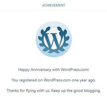 wordpress anniv
