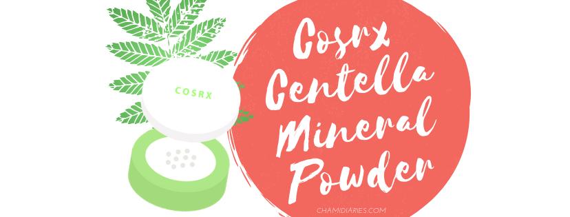 cosrx centella powder